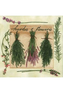 Servetten 'Herbs & Flowers'