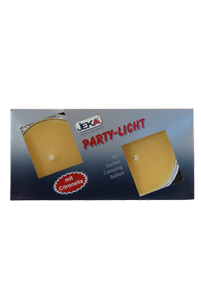 Party light Yellow 2 stuks